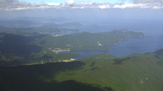 aerial 4k shot over japan - pazifikküste stock-videos und b-roll-filmmaterial