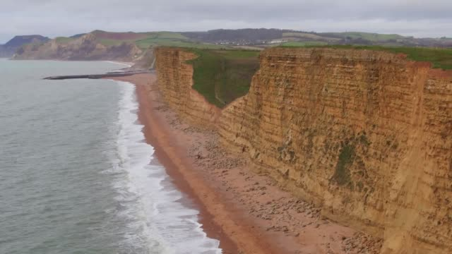 Aerial and ground shots of various locations in West Bay where the hit drama Broadchurch was filmed Includes the Broadchurch police station Jurassic...