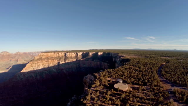 aerial arizona grand canyon - grand canyon national park stock videos & royalty-free footage