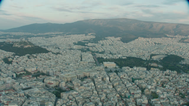 aerial athens, greece - athens greece stock videos & royalty-free footage