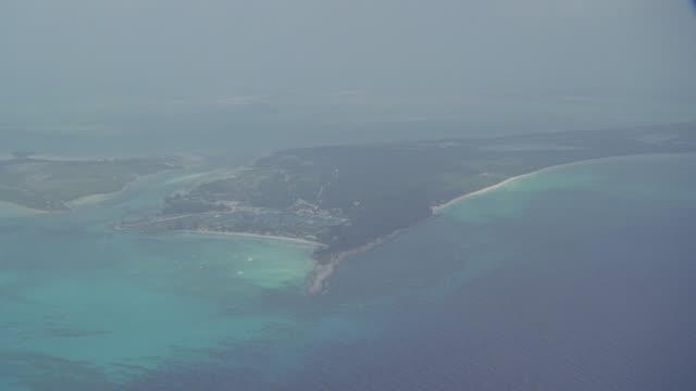 aerial bahamas island - bahamas stock videos & royalty-free footage