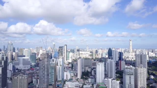 Aerial Bangkok City