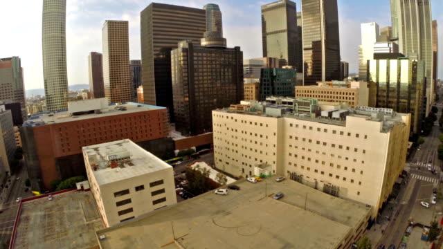 空から見たカリフォルニア州ロサンゼルス)