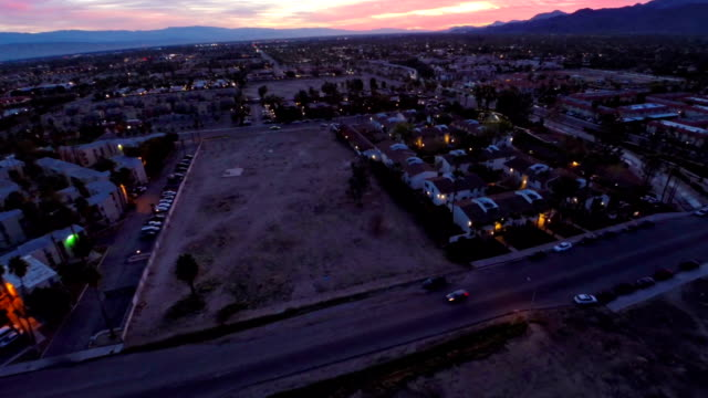 aerial california palm springs - palm springs california stock videos & royalty-free footage
