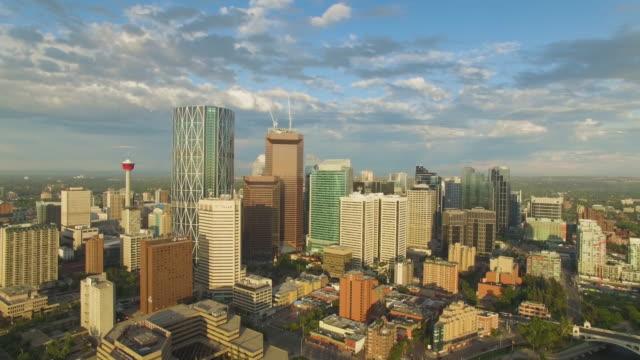 4K Aerial Canada: Calgary Skyline