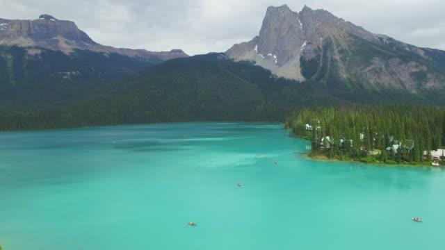 4K Aerial Canada: Emerald Lake