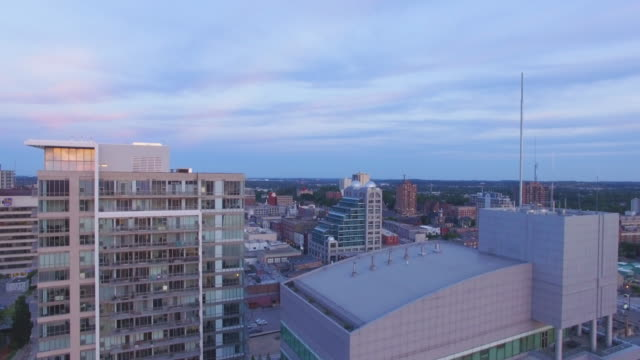 4K Aerial Canada: Kitchener Downtown