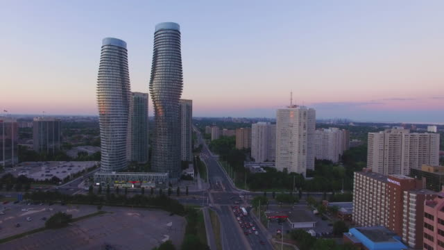 4K Aerial Canada: Mississauga Absolute World