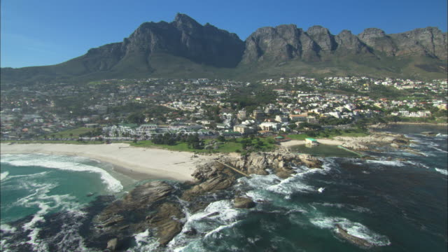 Aerial, Cape Town, Camps Bay, South Africa