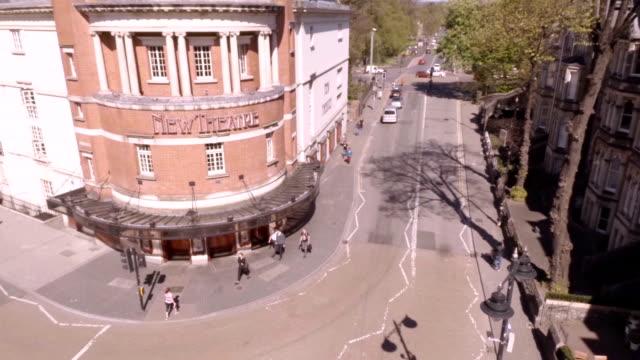 Aerial Cardiff New Theatre