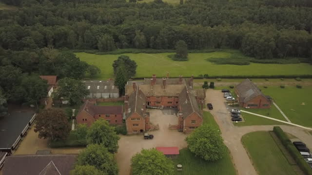 """aerial cawston park hospital, norfolk, a hospital for adults with learning difficulties and autism that has been shut down after a report found... - """"bbc news"""" stock videos & royalty-free footage"""