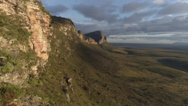 aerial - chapada diamantina - national park stock videos & royalty-free footage