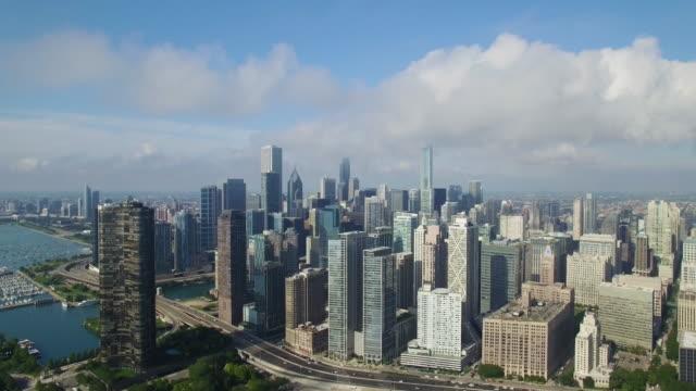 4K Aerial Chicago: Birdview of Chicago