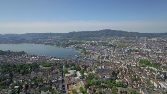 Aerial City of Zurich