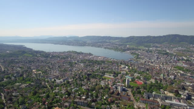 Aerial City of Zurich