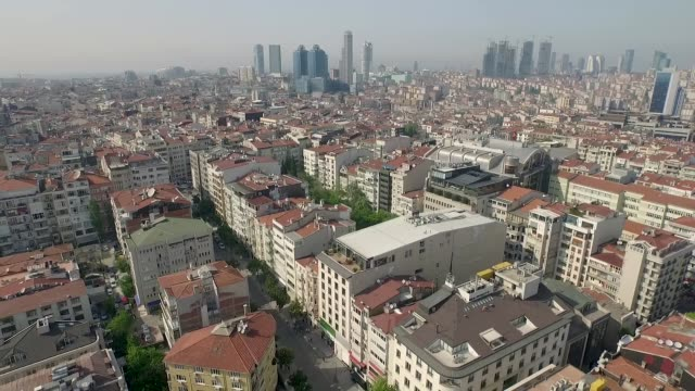 aerial city - istanbul stock videos & royalty-free footage