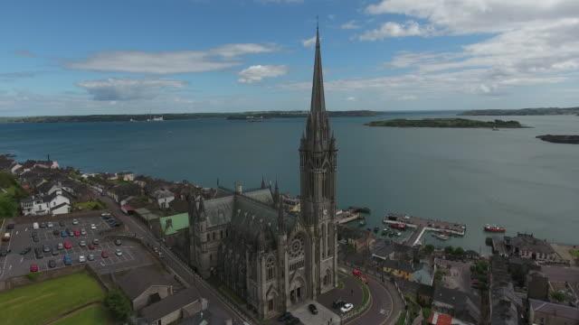 4K aerial : Cobh city