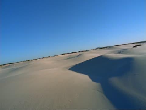 aerial desert, south africa - schrägansicht stock-videos und b-roll-filmmaterial