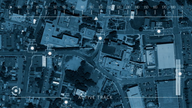 aerial drone tracking shot - surveillance stock videos & royalty-free footage
