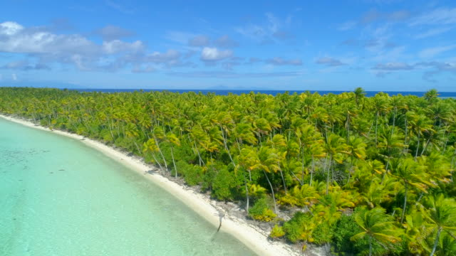 vídeos y material grabado en eventos de stock de aerial drone view of scenic tropical islands in french polynesia. - south pacific ocean
