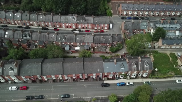 aerial durham - town stock videos & royalty-free footage