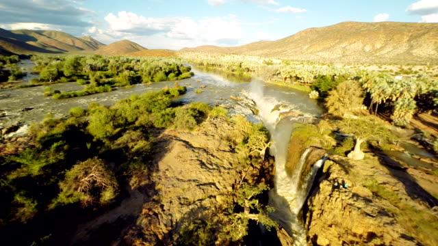 HELI Aerial Epupa Falls