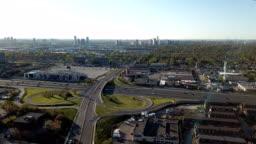 Aerial Etobicoke Scenes on GTA of Ontario, Canada