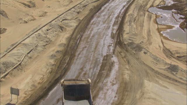 Aerial factory in the desert, Negev, Israel