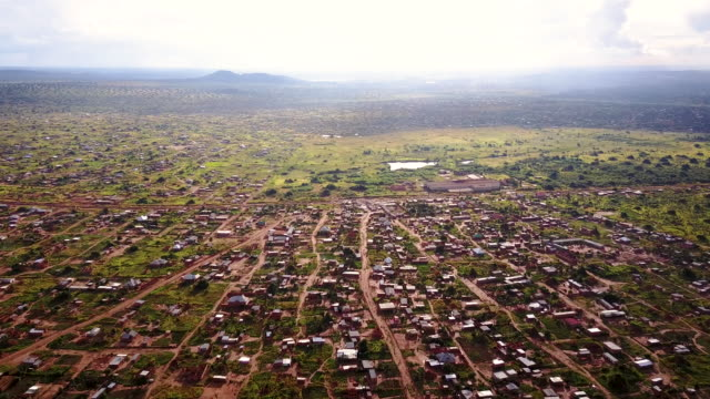 aerial flying over rural area, in congo africa daytime - democratic republic of the congo stock videos & royalty-free footage
