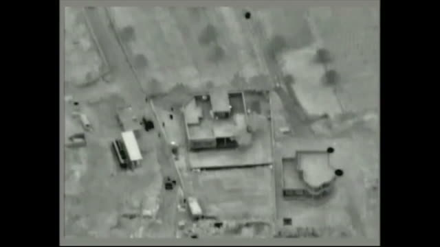 aerial footage as iraqi counter-terrorism services partnered with the coalition enter property of nasir qahtan al-ubayd, a daesh affiliate... - guarding stock videos & royalty-free footage
