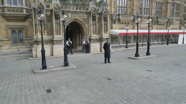 aerial footage of houses of parliament - top hat stock videos & royalty-free footage