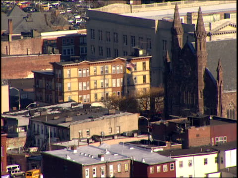 Aerial Footage of Paterson New Jersey