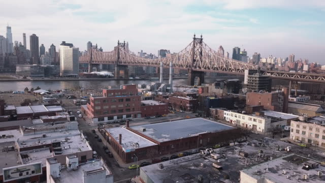 aerial footage queens new york city - queens new york city stock videos and b-roll footage