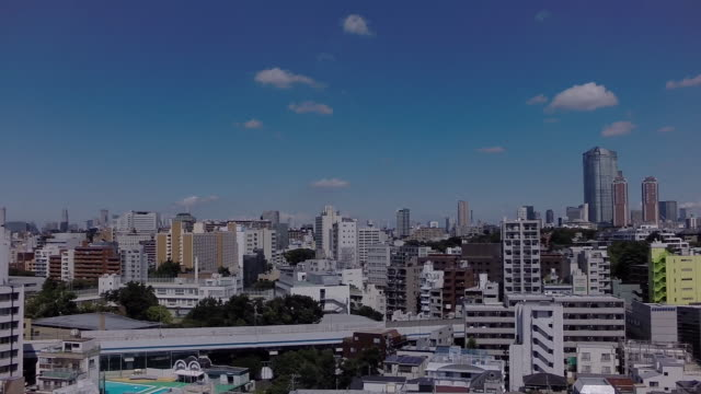 Aerial footages of Shirogane area.