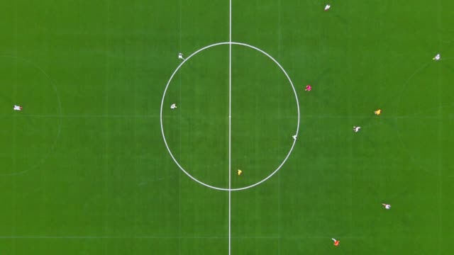 aerial football match - match sport stock videos & royalty-free footage