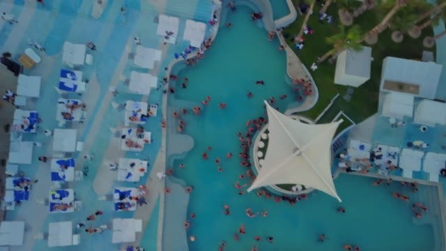 Aerial Forward: Swim and Relax in the Resort