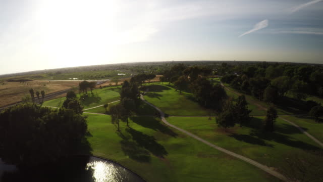 4k aerial golf course scenes in socal. - costa mesa stock videos & royalty-free footage