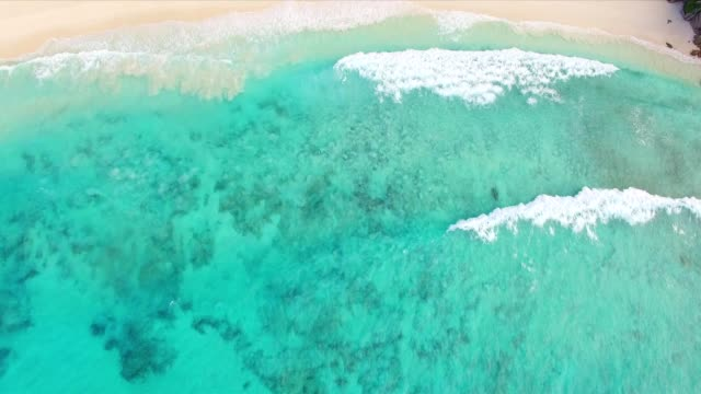 Antenne: Grand Anse, La Digue Island, Seychellen
