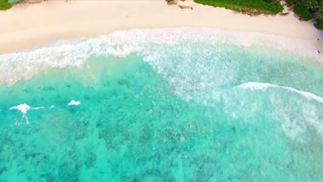 Antenne: Grand Anse La Digue Island, Seychellen