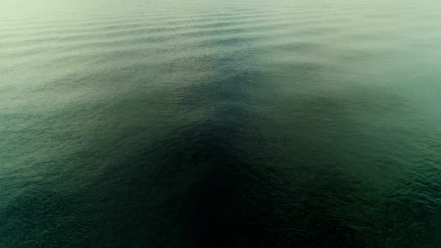 Aerial gröna havet