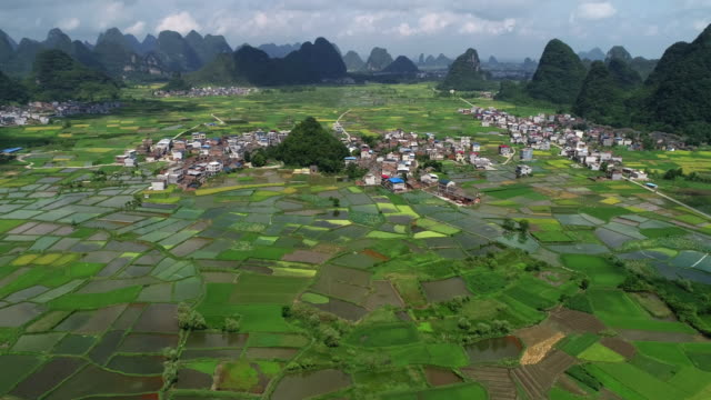 aerial guilin - guilin stock videos & royalty-free footage