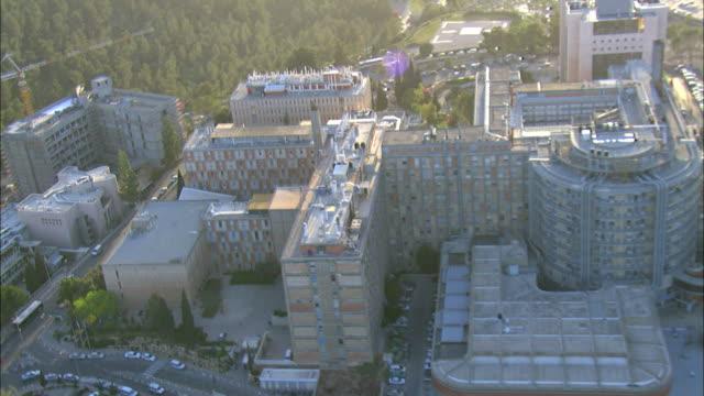 Aerial Hadassah Ein Kerem Hospital, Jerusalem, Israel