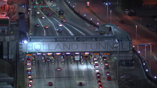Aerial Holland Tunnel Entrance