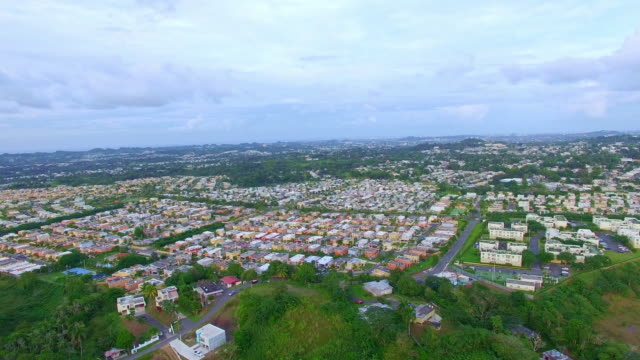 aerial housing project - puerto rico stock videos and b-roll footage