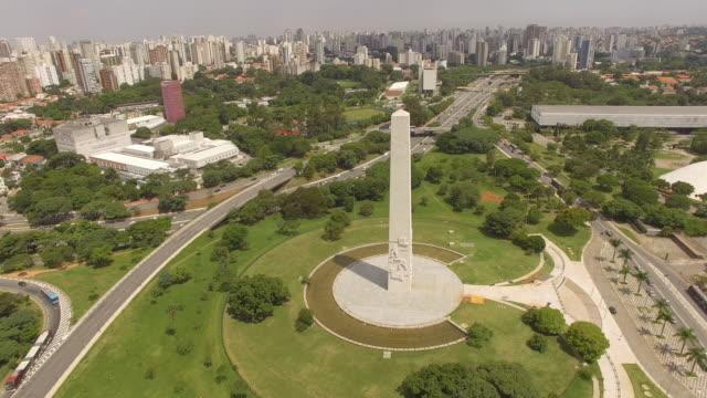 Aerial Ibirapuera Park - Sao Paulo