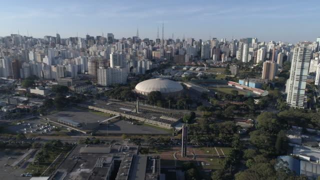 vidéos et rushes de antenne - parc d'ibirapuera - sao paulo