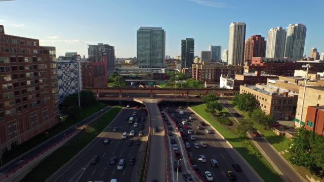 stockvideo's en b-roll-footage met luchtfoto illinois, chicago - chicago illinois