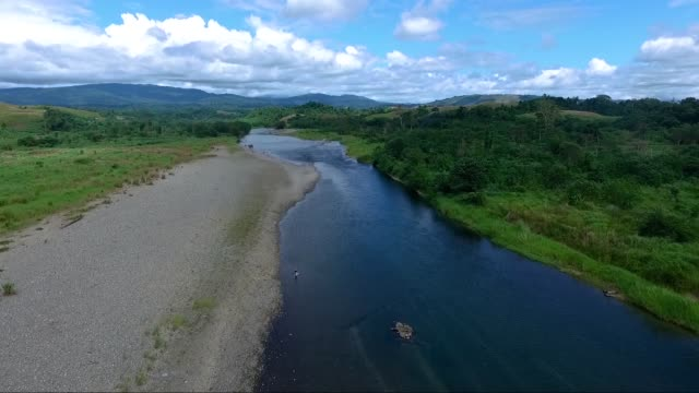 aerial imagery in guadalcanal solomon islands aug 5 2017 aug 7 2017 marks the 75th anniversary of the start of the battle of guadalcanal codenamed... - pacific war stock videos and b-roll footage
