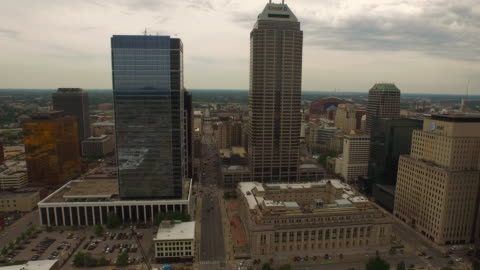 aerial indiana indianapolis - indiana stock videos & royalty-free footage
