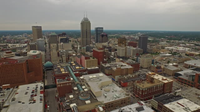 aerial indiana indianpolis - indiana stock videos & royalty-free footage